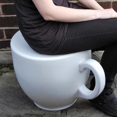 Tea Cup Stool by Holly Palmer image 12