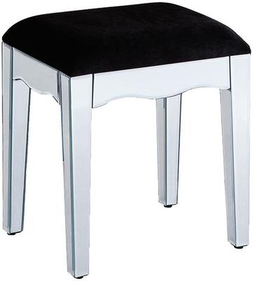 Large Mirrored Legs Stool