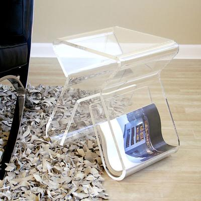 Umbra Magino Stool and Magazine Holder - Transparent image 2