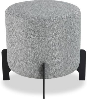 Koldrum Fabric Stool - Grey Fabric or Boucle Sand image 2