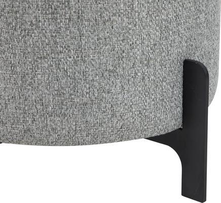 Koldrum Fabric Stool - Grey Fabric or Boucle Sand image 3