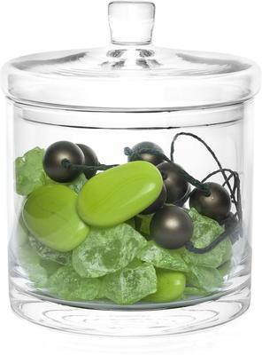 Glass Bonbon Jar Monde 17Cm