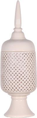 Ceramic Jar with Finial image 3