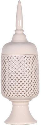Ceramic Jar with Finial image 4