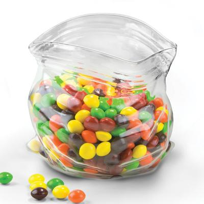 Unzipped Glass Snack Jar