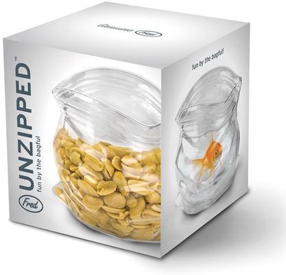 Unzipped Glass Snack Jar image 4