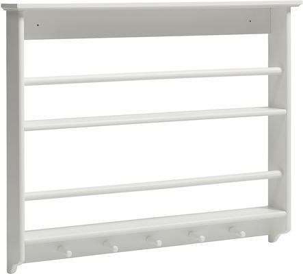White Plate Rack French-style