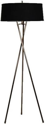 Tall Tripod Black Floor Lamp