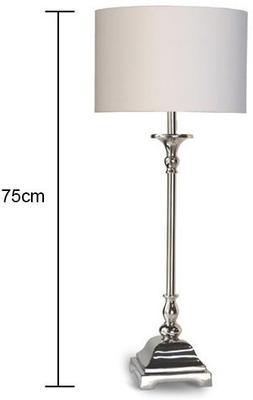 Slim Chrome Table Lamp image 2