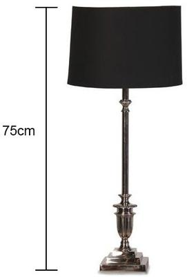 Tall Chrome Table Lamp image 2