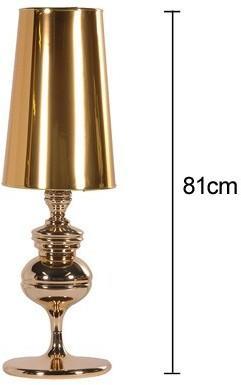 Tall Polished Table Lamp image 2