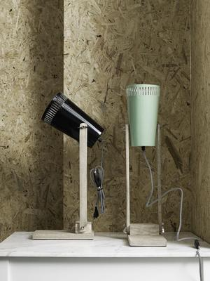 Wood Base Table Lamp Minimalist image 3