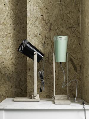 Wood Base Table Lamp Minimalist image 3
