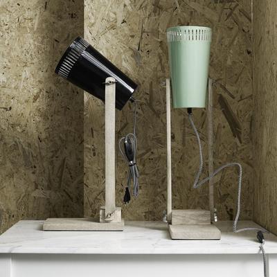 Wood Base Table Lamp Minimalist image 5