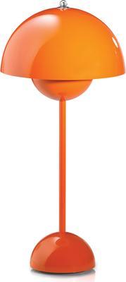 Panton Flowerpot Table Lamp - Orange