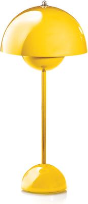 Panton Flowerpot Table Lamp - Yellow