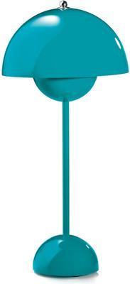 Panton Flowerpot Table Lamp - Turquoise