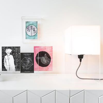 Plexiglass Table Lamp Nordic image 7