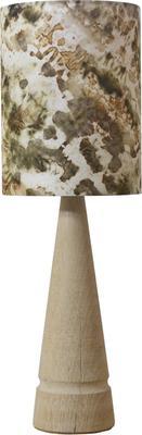 Oak cone lamp