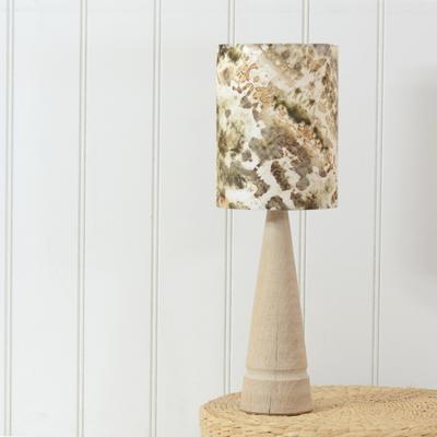 Oak cone lamp image 2