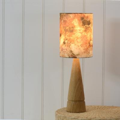 Oak cone lamp image 5