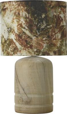 Oak dome lamp