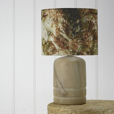 Oak dome lamp image 2