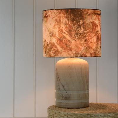 Oak dome lamp image 3