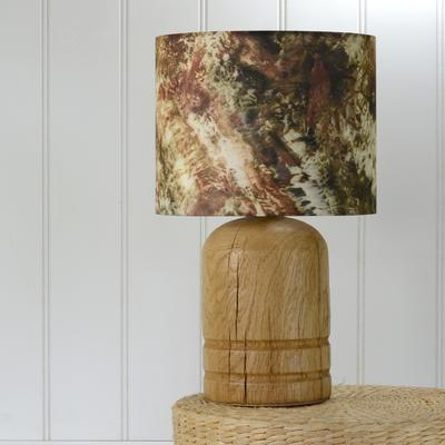 Oak dome lamp image 4