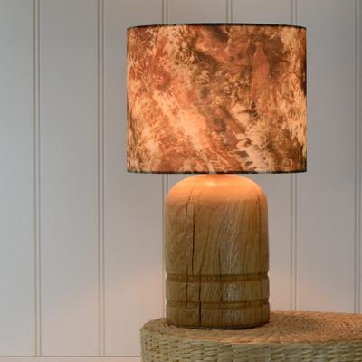 Oak dome lamp image 5
