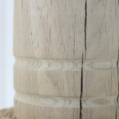 Oak dome lamp image 7