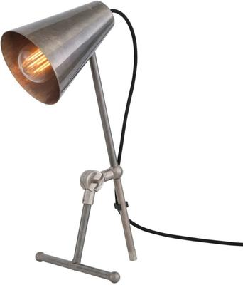 Moya Antique Adjustable Table Task Lamp in Brass or Silver