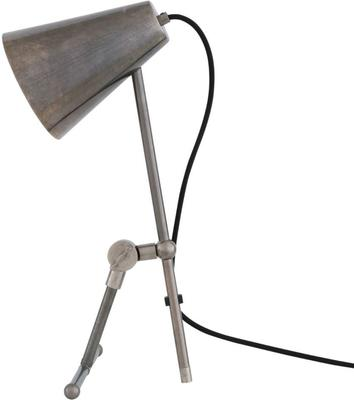 Moya Antique Adjustable Table Task Lamp in Brass or Silver image 2