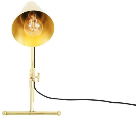 Moya Antique Adjustable Table Task Lamp in Brass or Silver image 7