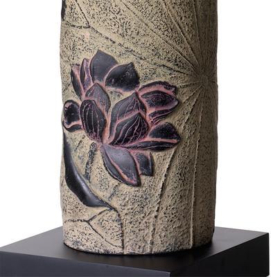 Stone Lotus Lamp image 2