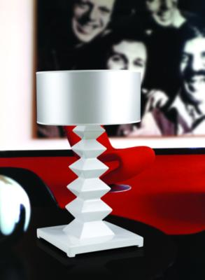 Modern Black Element  Lounge Table Lamp image 2