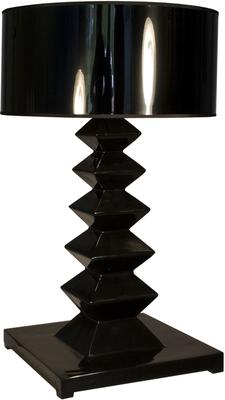 Modern Black Element  Lounge Table Lamp