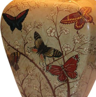 Butterfly and Blossom Lamp image 2