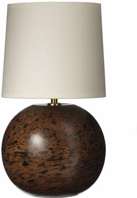 Marble Mango Wood Ball Lamp
