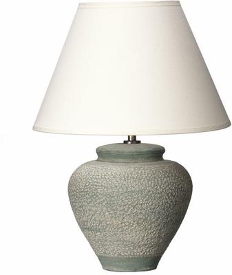 Small Green Textured Lamp