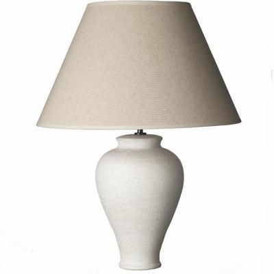 Textured White Ocean Lamp