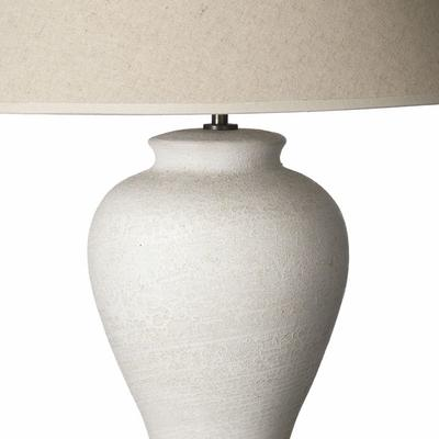 Textured White Ocean Lamp image 2