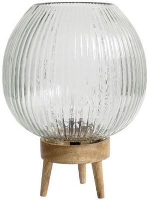 Groove Pattern Glass Table Lamp image 2