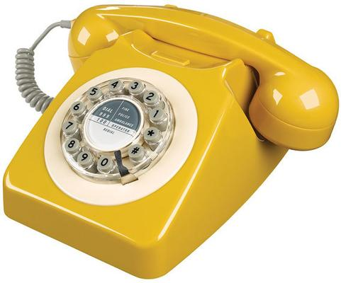 Wild and Wolf 746 Phone (English Mustard)