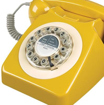 Wild and Wolf 746 Phone (English Mustard) image 2