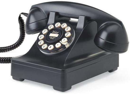 Wild and Wolf 302 Desk Phone (Black)