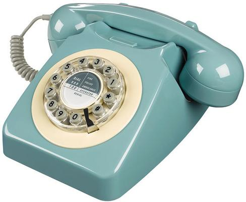 Wild and Wolf 746 Phone (French Blue)