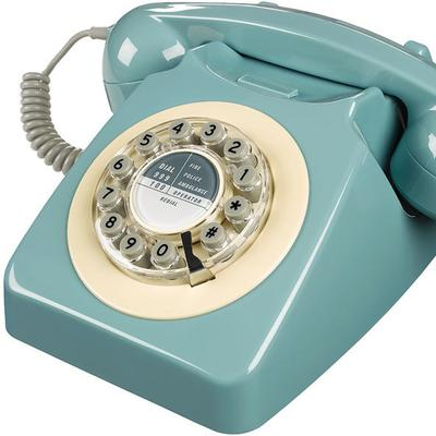 Wild and Wolf 746 Phone (French Blue) image 2