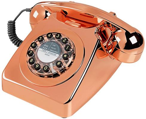 Wild and Wolf 746 Phone - Copper