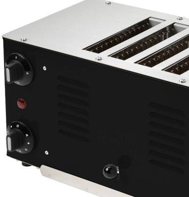 Regent Toaster (Jet Black) image 2